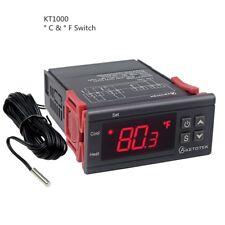 Ketotek Digital KT1000 Temperature Controller C/F Thermostat 10A Two Relay
