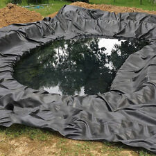 More details for 6m x 3m, 8m water garden fish pond liner flexible hdpe pool landscaping membrane