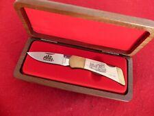 Gerber Usa mint in walnut box Mac Tools 1938-1989 lockback knife
