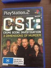PS2 CSI 3 dimensions, tested, complete,  PlayStation 2, disc exc.