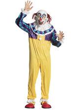 Mens Halloween Creepy Clown Costume