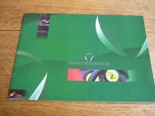 CATERHAM gama completa de modelo folleto de ventas avanzados lista de precios y opciones finales años 90
