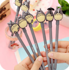 5pcs My Neighbour Totoro Cute Kawaii Rollerball Black Gel Pens Stationary Gift