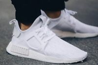 UK SIZE 12 Adidas Originals NMD XR1 PK Primeknit 'Vintage White' (BB1967)