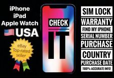 iPhone IMEI INFO / Carrier / Warranty / SIM Lock / Find My iPhone / Sold By