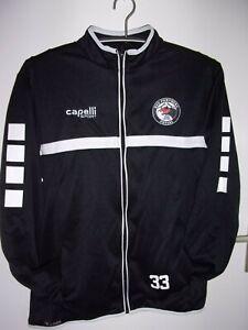 Capelli Sport HSV - Panthers FUTSAL Trainingsjacke Jacke Schwarz L NEUwertig