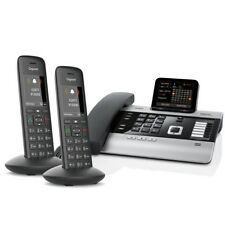 Gigaset DX800A Voice over IP- / ISDN-Mini-Telefonanlage mit 2x Mobilteil C570HX