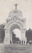 Arc St. Hubert & Cherrier Congrès Eucharistique MONTREAL Quebec 1910 Morissette