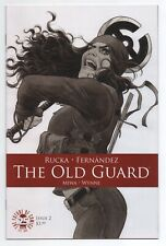 """The Old Guard #2 (2017, Image) Cvr B """"Andromache"""" Variant 1st Print RARE LOW NM"""