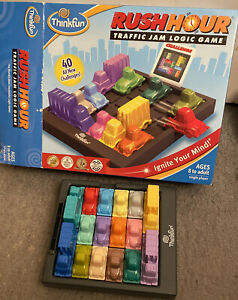 Game Puzzle Rush Hour Boxed Complete With Bag