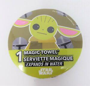 Peachtree Playthings Star Wars Baby Yoda Magic Towel Washcloth - New
