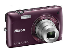 Nikon COOLPIX S4300 16 MP with 6x Zoom NIKKOR Glass Lens and 3-inch LCD (Plum)