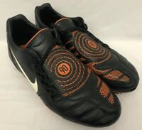 Nike T90 Total 90 Shoot 2 II FG Football Boots 354739-018 | Orange/Black | UK 9