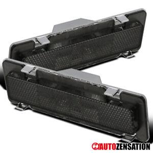 For 85-92 Chevy Camaro Pontiac Firebird Smoke Front Side Marker Signal Lights