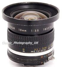 Nikon Nikkor 18 mm 1:3 .5 ultra-wide-angle Nikon AI-S lens for film & numérique SLR