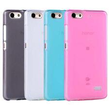 Per Huawei Honor 4C G PLAY MINI TPU GEL MATTE Cover Custodia Pelle