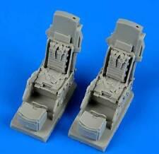 Quickboost RA - 5C. Vigilante asiento eyectable w. safety belts 1:48 kit