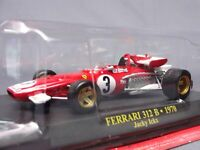 Ferrari Collection F1 312B 1970 Jacky Ick 1/43 Scale Mini Car Display Diecast 33