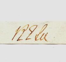 Gen Robert E Lee Autograph Reprint On Genuine Original Period 1860s Paper