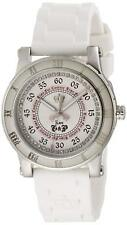 Juicy Couture 1900417 HRH White Silicone Band Stainless Steel Case Watch