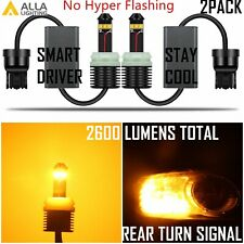 LED CANBUS Brightest 7440NA Turn Signal Light Bulb Replacement,Plug and Play
