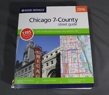 Rand McNally 2006 Chicago 7-County Street Guide - Spiral Bound  - Discs Included