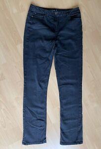 Long Tall Sally Jeans schwarz Größe 42 UK14 Überlänge L 38