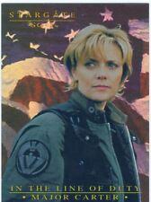 Stargate SG1 Season 6 Major Carter In The Line Of Duty Chase Card MC5