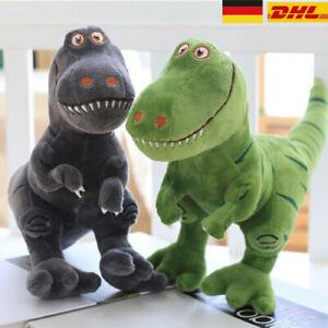 Stofftier Plüschtier Kuscheltier Puppe Dinosaurier Kinder Spielzeug Geschenk DE