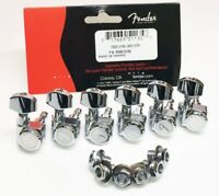 Genuine Fender American Deluxe Locking Tuner Chrome for USA Strat Tele Guitar