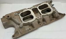 Edelbrock 5435 F28 S/B Ford 260 289 302 V8 dual 2-4 four carburetor manifold