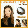 Bohemian Easy-Wear Hairbands Elastic Twist Braided Hair Headbands Wig Fishtail