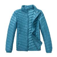 New Women's Packable 90% Down Jacket Ultralight Hooded/Stand Collar Puffer Coats