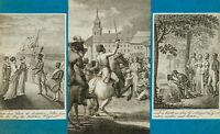 W. JURY (*1763), Der Befreiungskrieg gegen Napoleon, 1815, Kupferstich