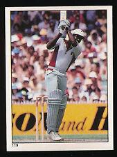 1983 Scanlens Cricket Sticker unused number 119 Clive Lloyd