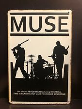 MUSE ABSOLUTION HYSTERIA METAL Poster Vintage RETRO STYLE Metal Sign 20x30 Cm