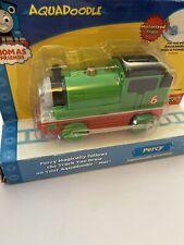 "Rare Vintage 2005 Thomas and Friends Aquadoodle ""Percy"" Motorized Train NIP"
