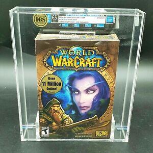 AWU - World of Warcraft  PC game 2008  graded sealed wata vga computer wow