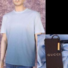GUCCI New sz XXXL - 3XL Auth Designer Hysteria Mens T-Shirt T Shirt cotton blue