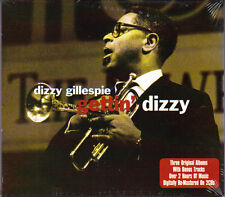 DIZZY GILLESPIE - GETTIN' DIZZY - 3 ALBUMS ON 2CD (NEW)