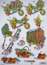 A4 Die Cut Paper Gardening No Cutting For Father's Day