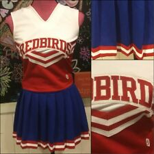 Real Cheerleading Uniform AdultS YouthL Red,white And Blue