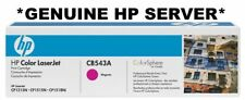 HP Genuine/Original CB543A 125A Magenta Printer Toner Cartridge cp1215,1515N INK