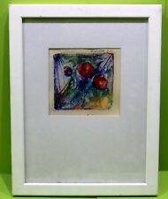 Künstlerische Aquarell-Malereien auf Papier