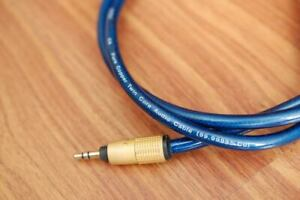 Ortofon 6N Pure copper 3.5mm - RCA Interconnect cable CD player / amplifier