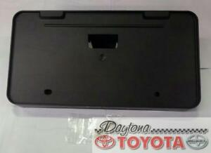 OEM TOYOTA SOLARA FRONT LICENSE PLATE HOLDER 75101-AA030 FITS 2001-2003