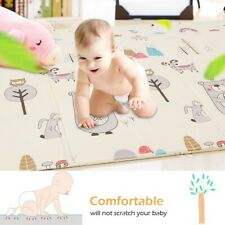 Baby play mat-large double-sided non-slip waterproof portable playroom safe