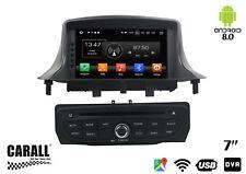 Autoradio Android 8.0 Renault Megane 3 III GPS DVD USB SD WI-FI Bluetooth Navig