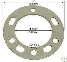 """2 Pc Chevy Wheel Spacers 6 Lug x 5.50 or 139.7 1/4"""" Inch Thick Part # AP-603"""