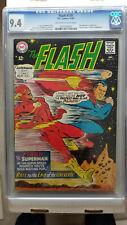 Flash #175 CGC 9.4 NM    2nd Superman vs Flash Race